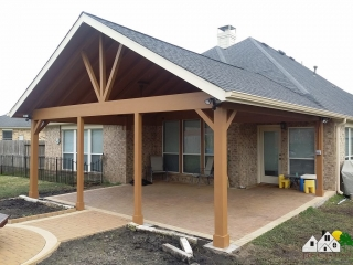 First Colony Roofing Patio Cover